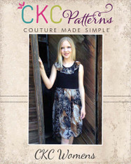 Flora's Flowing Summer High-Low Dress Sizes XS to XL Women PDF Pattern