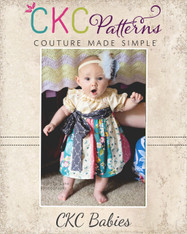 Jewel's Baby Stripwork Dress PDF Pattern