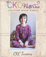 Josh's Tween Knit Pajamas PDF Pattern