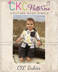 Porter's Baby Button-Up Shirt PDF Pattern