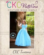 Elora's Tween Enchanted Princess Dress PDF Pattern