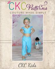 Jasmine's  Bubble Shorts, Capris, and Pants PDF Pattern