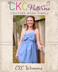 Hattie's Simple Bow Top, Dress, and Maxi Sizes XS to XL Women PDF Pattern