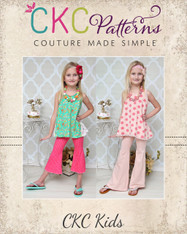 Marsha's Flared Pants and Capris Sizes NB to 15/16 Kids PDF Pattern