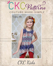 Charity's Swing, Hi-low and Handkerchief Top Sizes 6/12m to 15/16 Girls PDF Pattern