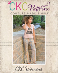 Marsha's Flared Pants and Capris Sizes XS to 5X Women PDF Pattern