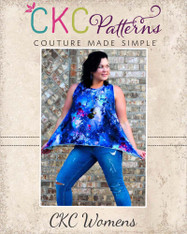 Charity's Swing, Hi-low and Handkerchief Top Sizes XS to 5X Women PDF Pattern