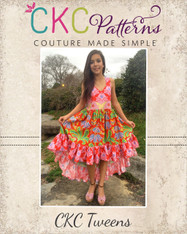 Hope's Tween Hi-Low Dress PDF Pattern