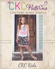 Brewster's Bubble Pocket Skirt Sizes NB to 15/16 Girls PDF Pattern