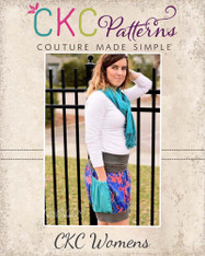 Brewster's Bubble Pocket Skirt Sizes XS to XL Women PDF Pattern