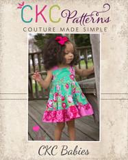 Lola's Baby Tiered Twirly Dress PDF Pattern
