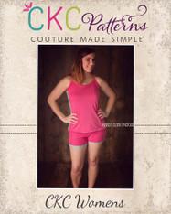 Callie's Cami and Boy Shorts Set Size XS to XL Women PDF Pattern