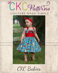 Betty's Baby Fifties Dress PDF Pattern