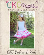 Patsy's Petticoat Sizes NB to 7/8 Girls PDF Pattern