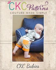 Jakob's Baby Cuffed Shorts PDF Pattern