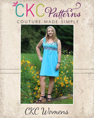 Justice's Knit Maxi, Dress, and Top Sizes XS to XL Women PDF Pattern