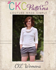 Blossom's Tab Shorts Sizes XS to XL Adults PDF Pattern