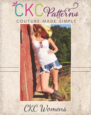 Kristine's Ruffled Shorts Sizes XS to XL Adults PDF Pattern