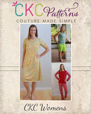 Tansy's Knit Pajamas Sizes XS to XL Women PDF Pattern