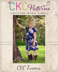 Danika's One-Piece Top and Dress Sizes 6/12m to 15/16 Kids PDF Pattern