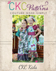 Autumn's Peasant Romper Sizes NB to 6 Girls PDF Pattern