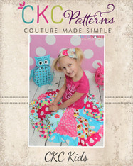 Aylah's Knit Twirly Skirt Sizes 6/12m to 8 Kids PDF Pattern