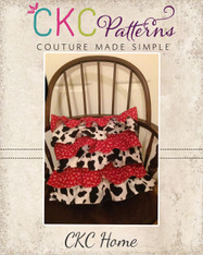 Jeane's Ruffle Pillow Cover Pattern PDF Pattern