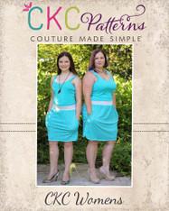 Nevaeh's Knit A-Line Pocket Skirt Sizes XS to 5X Women PDF Pattern