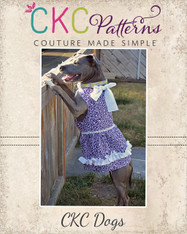 Anna's Sweetheart Halter Dress for Large Breed Dogs PDF Pattern