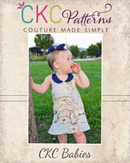 Sparrow's Baby A-Line Halter Top, Tunic, and Dress PDF Pattern