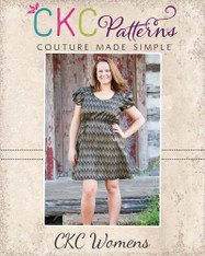 Kristi's Multi-Sleeve Dress Sizes XS to XL Adults PDF Pattern