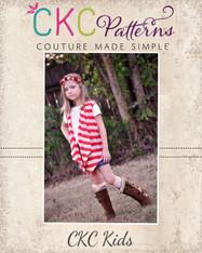 Chantelle's Knit Waterfall Infinity Cardigan Sizes 6/12m to 15/16 Girls PDF Pattern