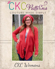 Chantelle's Knit Waterfall Infinity Cardigan Sizes XS to 5X Women PDF Pattern