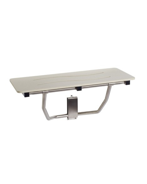 Seachrome Bench Style Shower Seat 24 x 15 Naugahyde White SSB-240150 NW