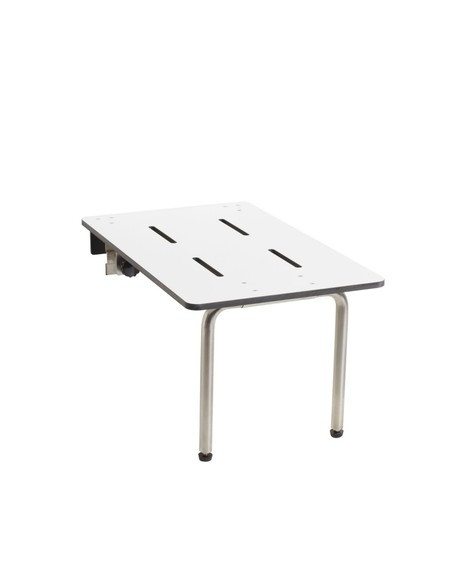 "Edge-Mounted Portable Folding Tub Seat by Seachrome | 26.5"" x 16"" 