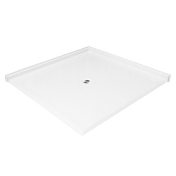 "Aquarius AcrylX™ | Barrier Free | Double Entry | Corner Shower pan | Accessible Corner Shower Base | 50""W x 50""D x 4.5""H 