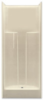 Aquarius 31.875 x 32 Residential Shower Smooth Wall w/ Center Drain - G3280SH