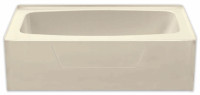 Aquarius AcrylX™ Applied Acrylic Rectangular Soaking Tub | 54W x 27.25D x 17.5H | Left Drain | G5427TOL, Bathtub, bath, tub, tub shower, shower tub, garden tub, Cheap bathtub, low price bathtub, discount bathtub, best price tub, Shower Pan | Shower base | unique size shower pan, unique size shower base, shower base, shower pan, shower, barrier free, barrier free shower base, barrier free shower pan, remodel shower, multi-piece shower, 2 piece shower, low threshold, two piece, two piece shower, Cheap sectional shower, Discount standard sectional, low price shower, best price shower, cheap one piece shower, grab bar shower, cheap shower, Discount shower, aging in place shower, accessible showers, cheap shower base, discount shower base, low price shower base, best price shower base, tile shower base, accessible shower base, aging in place shower base, no threshold shower base, low threshold, shower base, Sectional shower, cheap shower pan, low price shower pan, discount shower pan, best price shower pan, accessible shower pan, Handicap accessible shower pan, accessible shower pan