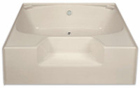 "Aquarius AcrylX ™ | Soaking Tub | 54.25""W x 41.375""D x 18""H 