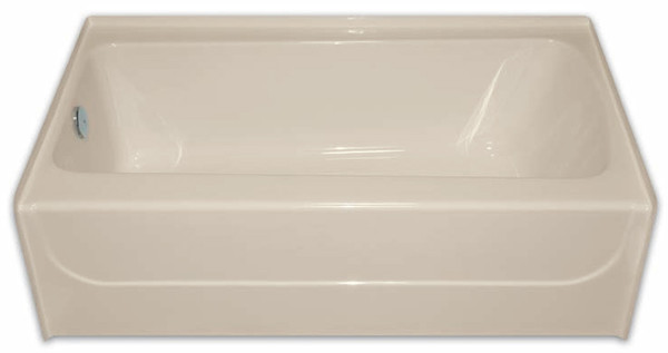 "Aquarius AcrylX™ Applied Acrylic Rectangular Soaking | Tub 54""W x 31.75""D x 16.25""H 