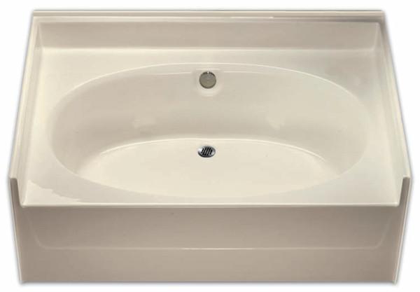 Aquarius AcrylX ™ | Oval Soaking Tub | 60W x 42D x 24H | Drain Center | G6040TO ,  cheap tubs, discount bathtubs, low price bathtubs, best price bathtubs, tile shower base, accessible tubs, aging in place tubs, cheap bathtubs, low tubs, discount tubs, best tubs, garden tub, oval tub, soaker tub, soaking tub