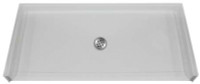 Aquarius MPB 5050 BF 1.0 C | 50.25W x 50.125D x 4.5H | Four foot interior dimension | AcrylX™ barrier-free shower base