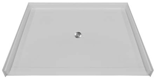 "Aquarius AcrylX™ | Barrier Free Shower pan | Accessible Shower Base | 60""W x 49""D x 4.5""H 