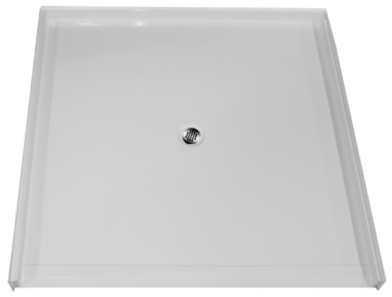 "Aquarius AcrylX™ | Barrier Free | Shower Pan | Accessible Shower Base | 60""W x 61""D x 4.5""H 