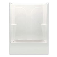 Aquarius Choose Home Series 54 x 27 Gelcoat Tub Shower 2 Piece - CHG 5494 TS 2P