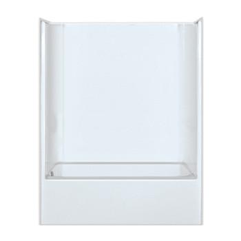 AQUARIUS ACRYLX™ Bathtub Shower Combination 60W x 32.25D x 75.5H | CHG 6092 TS