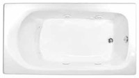 Aquarius Contractor Advantage Series 60 x 32 Drop In Acrylic Soaker Tub - RN 6032