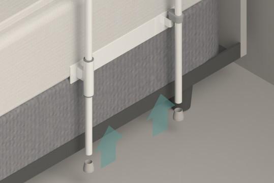 HealthCraft | Smart-Rail 300lb Capacity Bed Rail SR-S