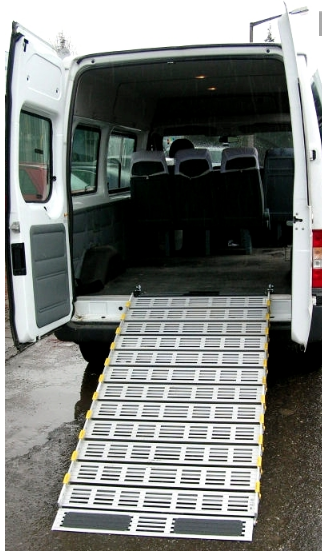 Roll-A-Ramp | 4' x 30'' | Aluminum Ramp | A13003A19, portable ramp, wheelchair, roll, ramp, ramps, portable ramp, wheelchair, roll-a-ramp, roll a ramp, roll up ramp, modular ramp, wheelchairs,