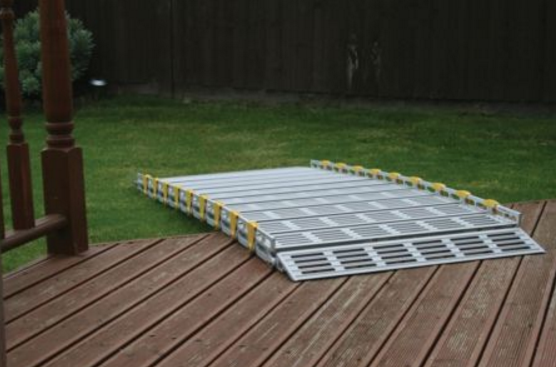 Roll-A-Ramp 6' x 30'' Aluminum Ramp | A13005A19  , cheap ramp, low price ramp, discount ramps, best price ramp, wheel chair ramp, value ramp, quality ramp, aluminum ramp, safety ramp, roll a ramp,